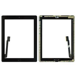 Apple İpad 3-İpad 4 (A1430-A1416) Dokunmatik Siyah