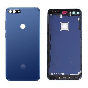 Huawei Y6 2018 (ATU-L21) Kasa Kapak-Mavi