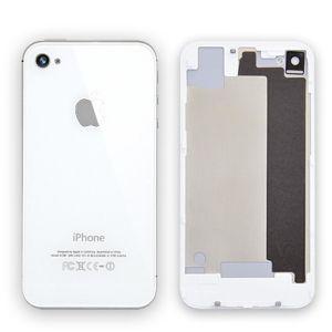 Apple İphone 4 Arka Pil Kapağı Beyaz