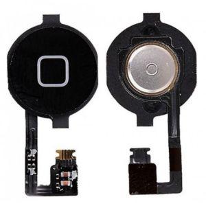 Apple İphone 4S Home Tuş Filmi Siyah
