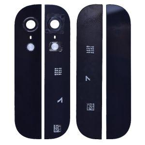 Apple İphone 5 Çerçeveli Kamera Camı Siyah