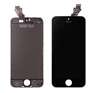 Apple İphone 5S Cam Değişmiş Revize Orjinal Ekran Dokunmatik Siyah
