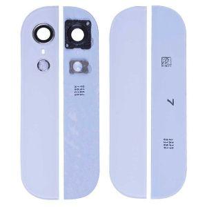 Apple İphone 5s Çerçeveli Kamera Camı Beyaz