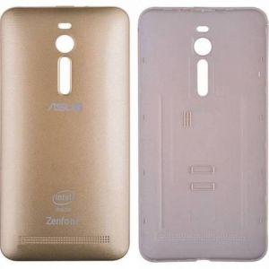 Asus Zenfone 2 (ZE551ML) Arka Pil Kapağı-Gold