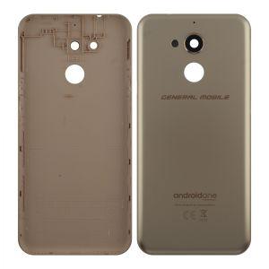 General Mobile Gm8 (Kasa) Arka Pil Kapağı Gold