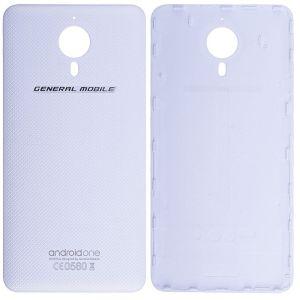 General Mobile Discovery Gm5 Arka Pil Kapağı Beyaz