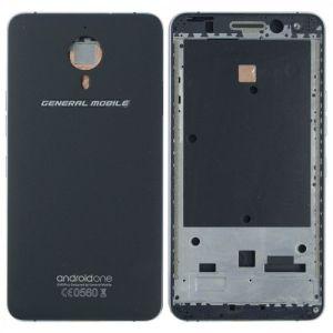 General Mobile Gm5 Plus Kasa Kapak Siyah