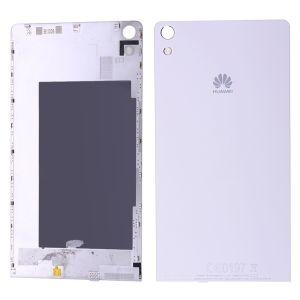 Huawei Ascend P6 Arka Pil Kapağı Beyaz