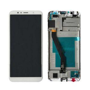 Huawei Y6 2018 (ATU-L21) Çıtalı Ekran Dokunmatik Beyaz