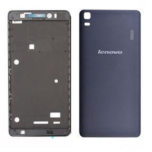 Lenova A7000 Kasa Kapak-Siyah