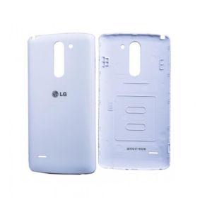 Lg (D690) G3 Stylus Arka Pil Kapağı Beyaz