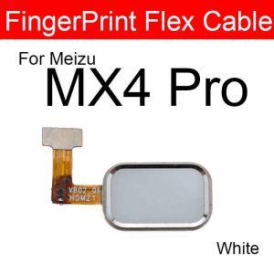 Meizu MX4 Pro Parmak İzi Okuyucu-Beyaz
