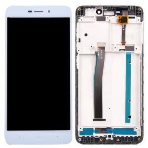 Xiaomi Mi 4A Ekran+Dokunmatik Çıtalı-Beyaz