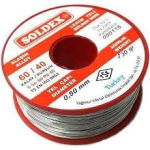 Solder Lehim Teli (0,4) Mm (50Gr)