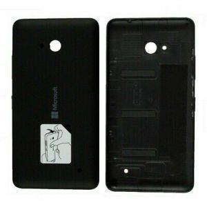 Microsoft Lumia 640 Siyah Arka Pil Kapağı