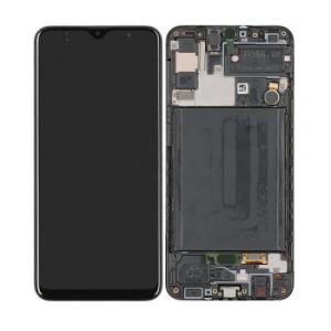 Samsung Galaxy A30s (A307) Servis Ekran+Dokunmatik Çıtalı