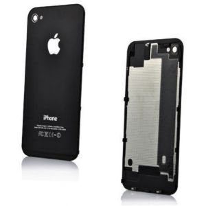 Apple İphone 4S Arka Pil Kapağı Siyah