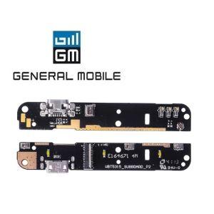 General Mobile Discovery Quadro 4 Şarj Soketi Ve Mikrofon Filmi