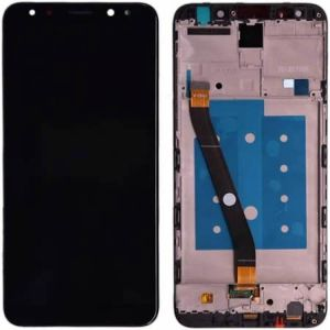 Huaweı Mate 10 Lite Ekran+ Dokunmatik Çıtalı Siyah