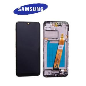 Samsung Galaxy A01 (A015) Çıtalı Ekran+Dokunmatik Servis-Siyah
