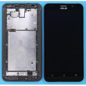 Asus Zenfone 2 (5.5) (ZE551ML) Çıtalı Ekran+Dokunmatik-Siyah