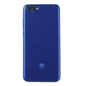 Huawei Y6 2018 (ATU-L21) Kasa Kapak-Mavi Deliksiz