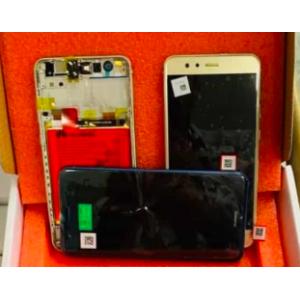 Huawei P10 Lite (WAS-LX1A) Ekran+Dokunmatik Çıtalı Servis Bataryalı Gold