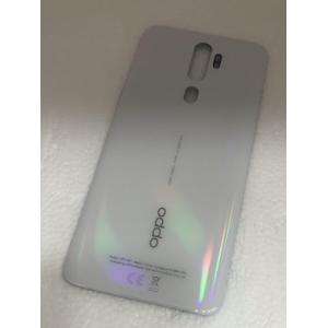 Oppo A5 2020-A9 2020 Arka Pil Kapağı-Beyaz