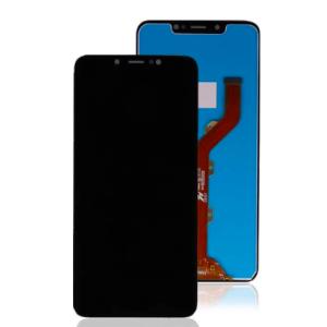 İnfinix Hot 7-Hot 7 Lite Çıtasız Ekran+Dokunmatik-Siyah