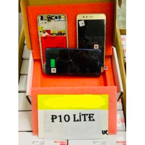 Huawei P10 Lite (WAS-LX1A) Ekran+Dokunmatik Çıtalı Servis Bataryalı Siyah