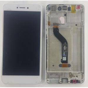 Huawei P9 Lite 2017 (PRA-LX1) Ekran Dokunmatik Çıtalı Çıkma Orjinal Beyaz