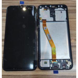 Huawei Mate 20 Lite Çıtalı Çıkma Tam Orjinal Ekran Siyah
