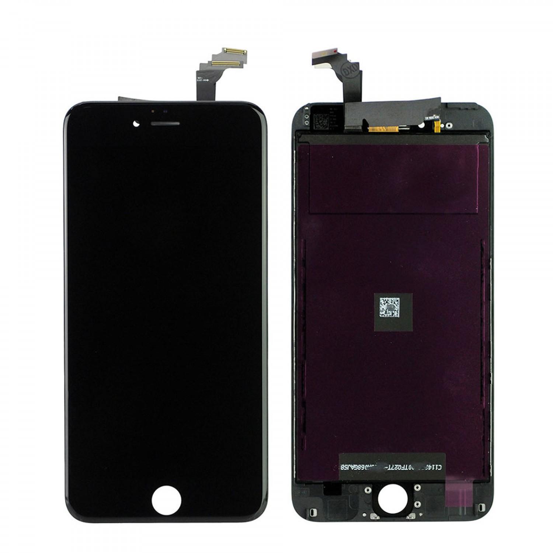Apple İphone 6 Orjinal Cam Değişmiş Revize Ekran+Dokunmatik-Siyah